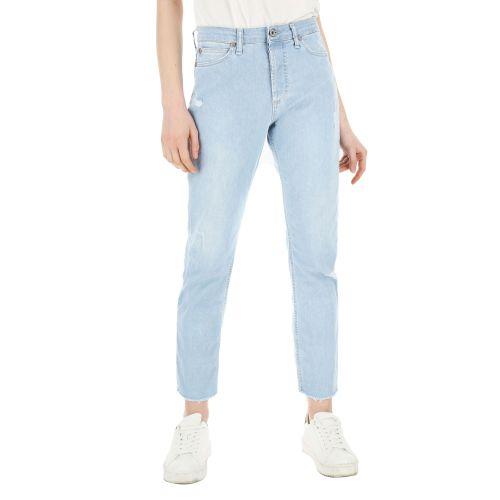 please jeans donna denim chiaro P66MBQ2PSP