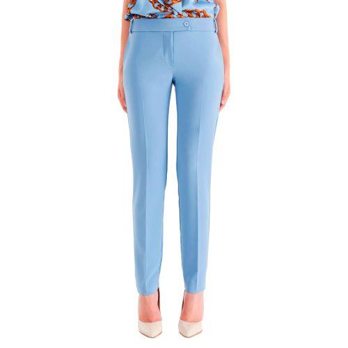 rinascimento pantalone donna azzurro CFC0105037003