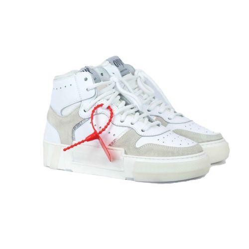 ovye LUC 2521 8 scarpe donna bianco e beige