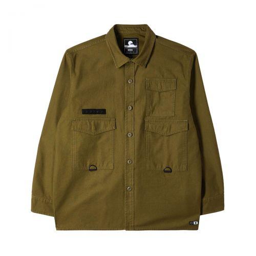 edwin d-ring mili shirt ls uomo camicia d-ring mili shirt ls I029711