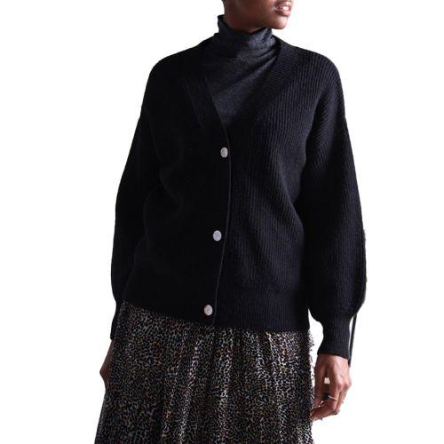 molly bracken cardigan donna nero LA511A21