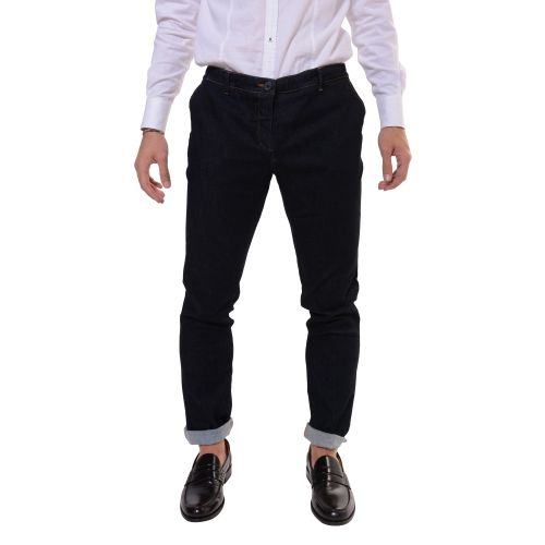 Uzes Uomo Pantalone Blu