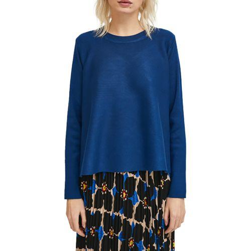 compania fantastica maglia donna blu WI21DEJ08