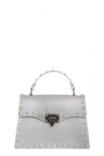 marc ellis FLAT ROCK S SILVER borsa donna argento