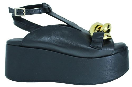 crown scarpe donna black 21210