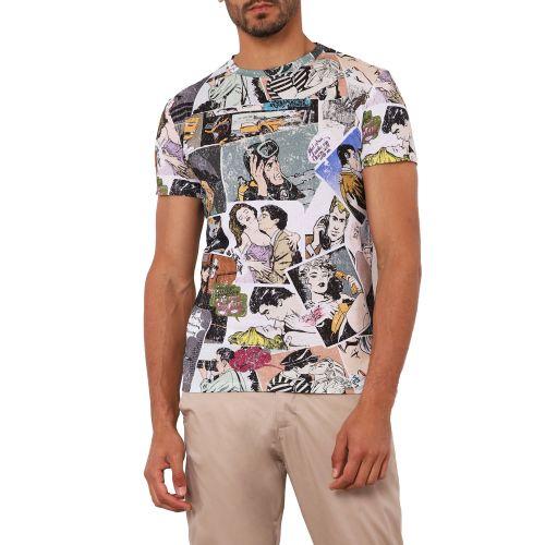 imperial T4441U747 1998 t-shirt uomo multicolor