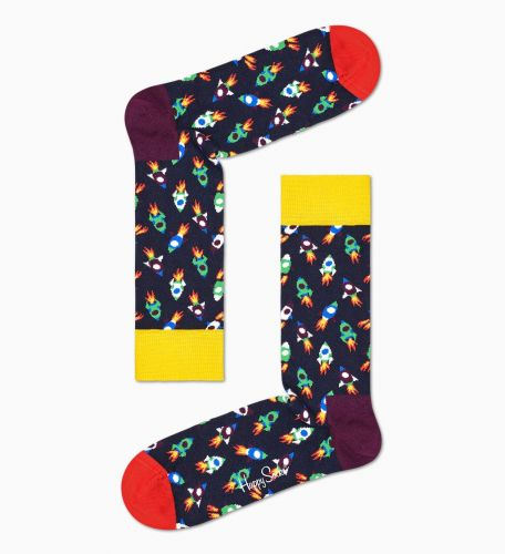 happy socks ROCKET SOCK/U 6500 calzini uomo multicolor