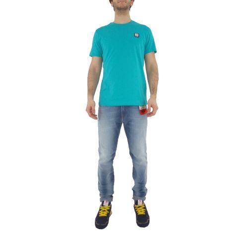 diesel T-DIEGOS-K30 0AAXJ 5II t-shirt uomo verde