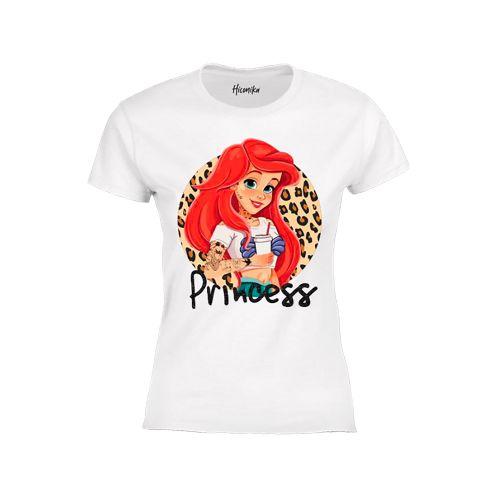 hiconika t-shirt donna bianco LADY DG440