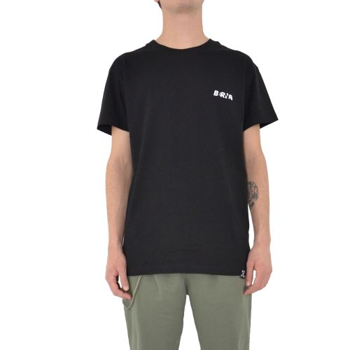 berna t-shirt uomo nero M 210037