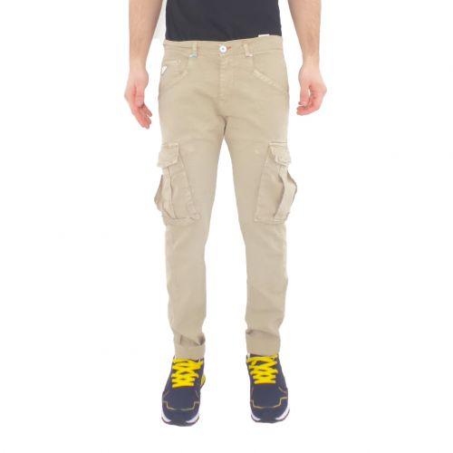 berna M 210210 8 pantalone uomo beige