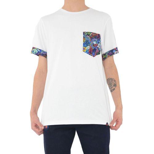koon 6683 5 t-shirt uomo bianco