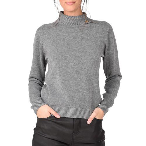 molly bracken maglia donna grigio E1125A21