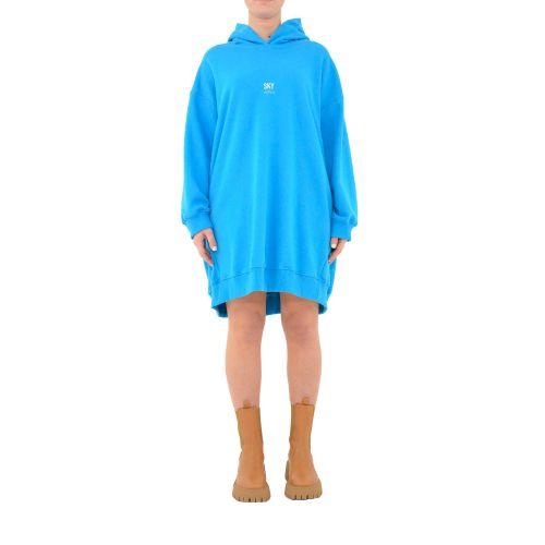 vicolo RH0072 SKY abito donna blu