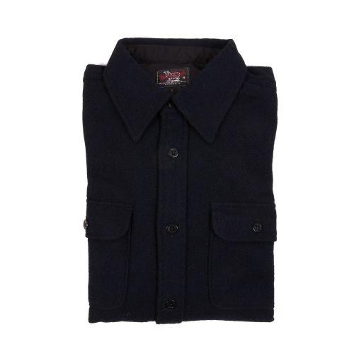 Woolrich Uomo Camicia Blu
