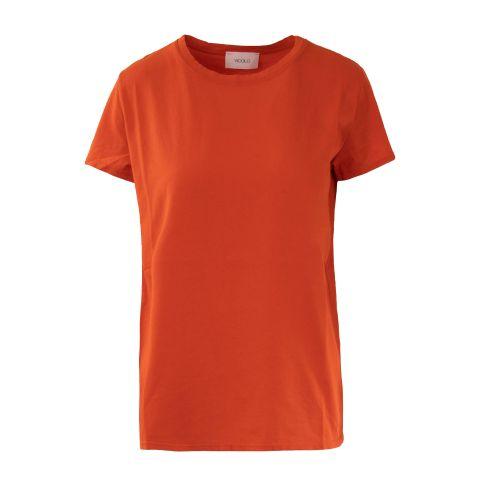 vicolo UH0085 PAPAYA t-shirt donna arancione