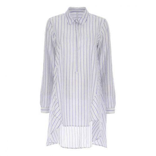 imperial CED3BIP 2132 camicia donna azzurro e bianco