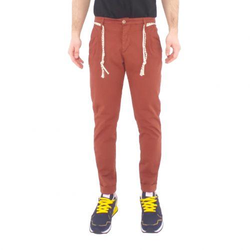 squad2 RIO 813 pantalone uomo marrone
