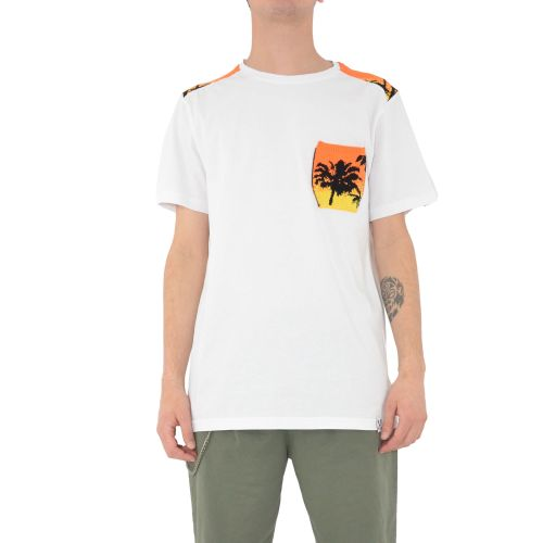 berna M 210052 2 t-shirt uomo bianco