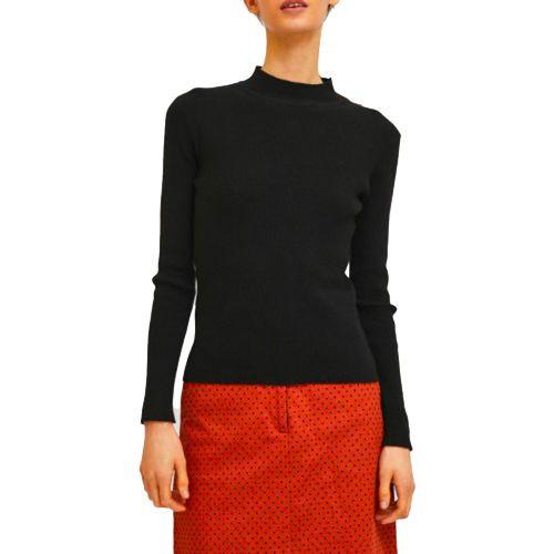 compania fantastica maglia donna nero FA21SHA01