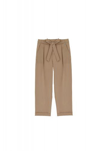 dixie PAZ8PMC 1823 pantalone donna cammello