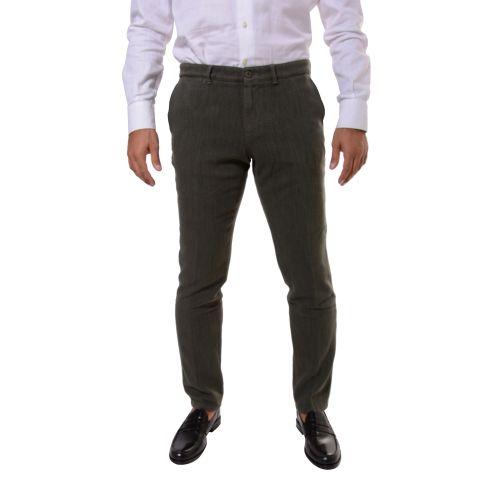 Uzes Uomo Pantalone Verde