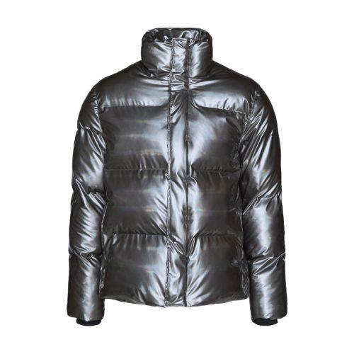 rains boxy puffer jacket donna capospalla 1522