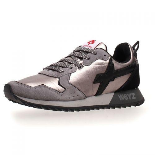 W6YZ scarpe donna grigio nero JET-W