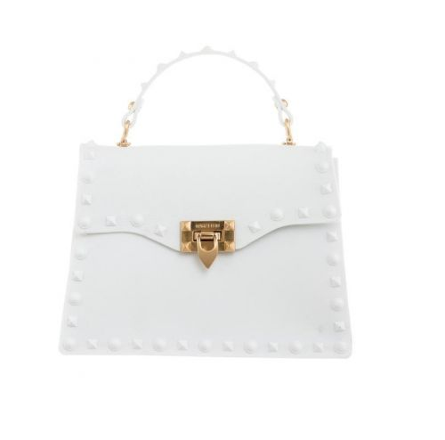 marc ellis FLAT ROCK M BIANCO borsa donna bianco