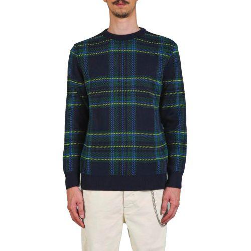 berna maglia uomo blu verde M 215015