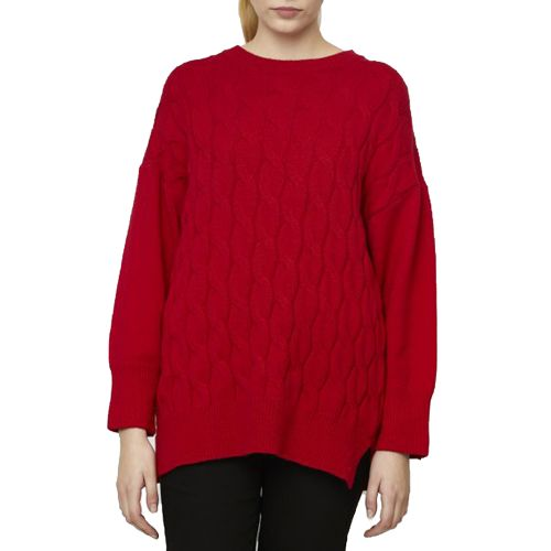 compania fantastica WI19DEJ02 000020 maglia donna rosso