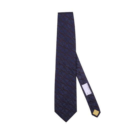 Hubert Uomo Cravatta Blu