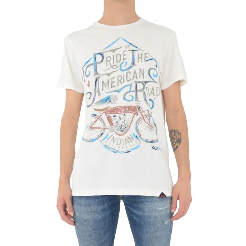 koon 6678 U t-shirt uomo bianco