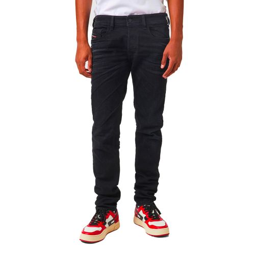 diesel jeans uomo denim nero SLEENKER-X
