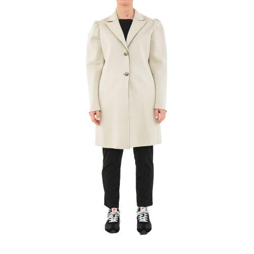 please cappotto donna beige nero S493HMAIRA