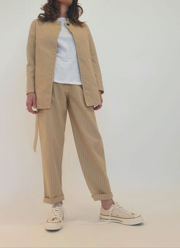 bottega chilometri zero 4.10 calendario jap donna pantaloni DD20121
