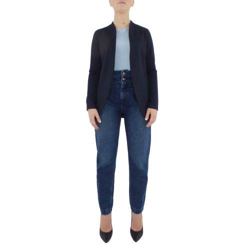 bighet 0585/4817 BLU giacca donna blu