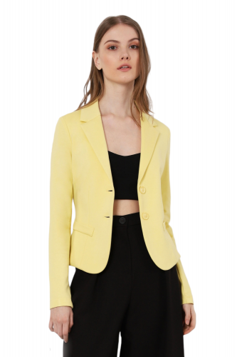 imperial JS24BBB 3206 giacca donna giallo
