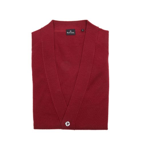 Paul Smith Uomo Cardigan Bordeaux
