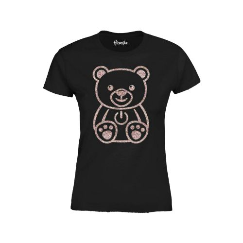 hiconika t-shirt donna nero LADY DG210