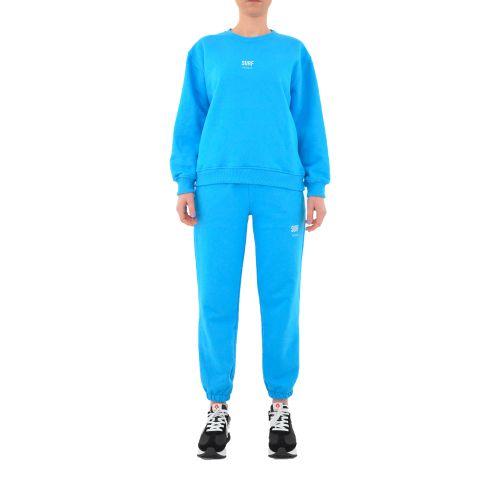 vicolo RH0071 SURF felpa donna azzurro