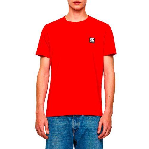 diesel t-shirt uomo rosso T-DIEGOS-K30