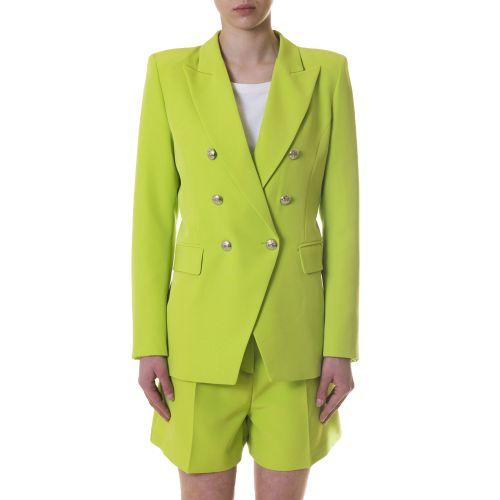 vicolo TH1051 VERDE FLUO giacca donna verde