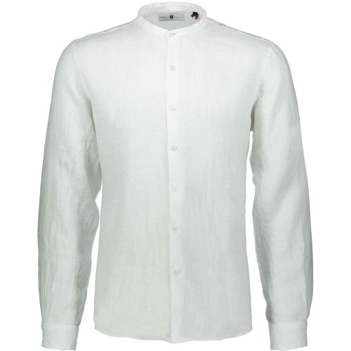 fdm 2312 4002 1 camicia uomo bianco