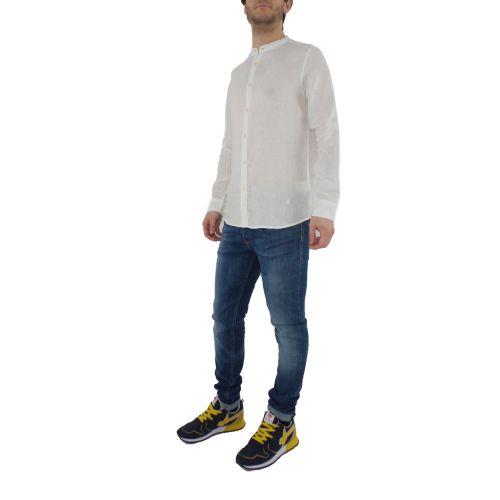 mark up MK993002 BIANCO camicia uomo bianco