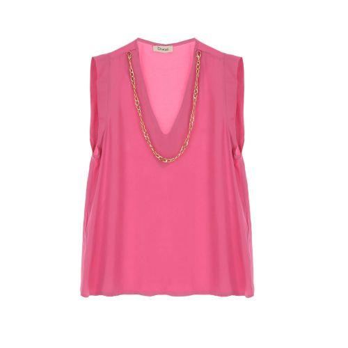 dixie RAFRIAT 1320 blusa donna rosa