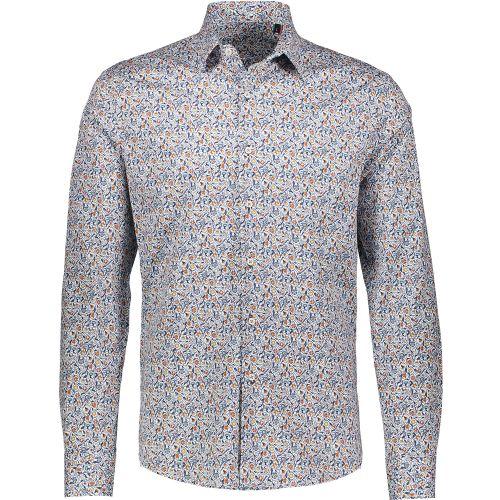 fdm 2818 2380 3 camicia uomo bianco e blu