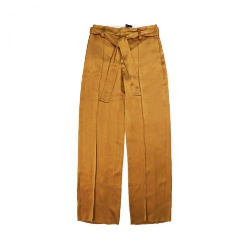 alysi liquid satin donna pantaloni 101140
