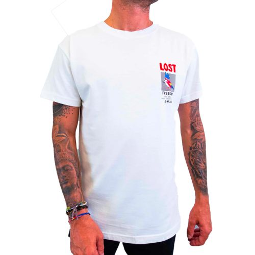 berna t-shirt uomo panna M 215160