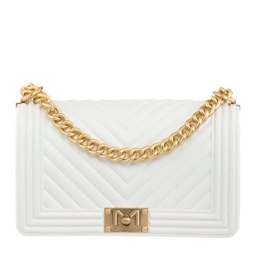 marc ellis FLAT S BIANCO borsa donna bianco